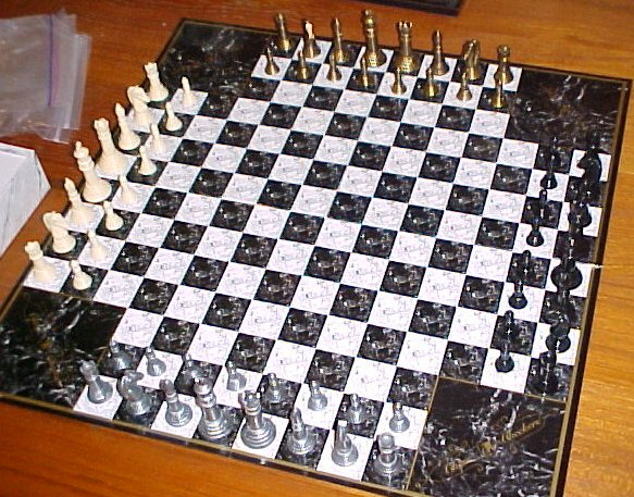 4 player games chess